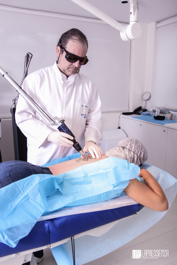 PicoSure láser para borrar tatuajes de clínica nexus