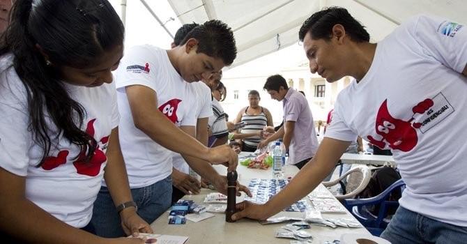 Miembros de ONUSIDA en una imagen de archivo. Foto: EFE