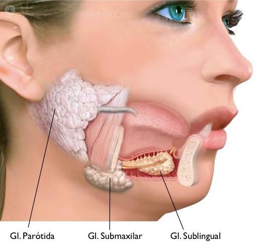 glándulas salivales cáncer síntomas