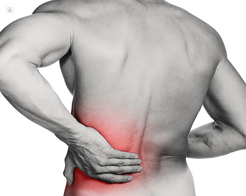 back pain from a herniated disc