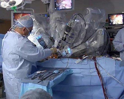 Робот да винчи в урологическом отделении городской больницы n40