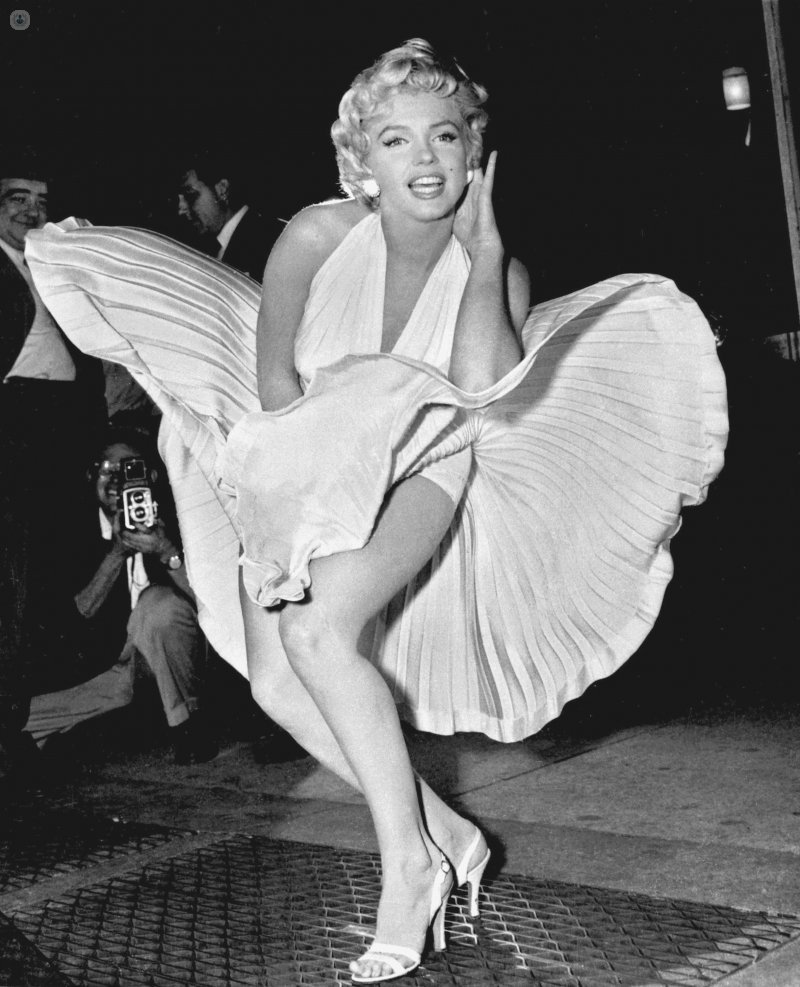 marilyn monroe knees