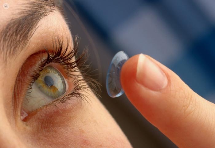 cdce919357 Evolución de las lentes de contacto o lentillas