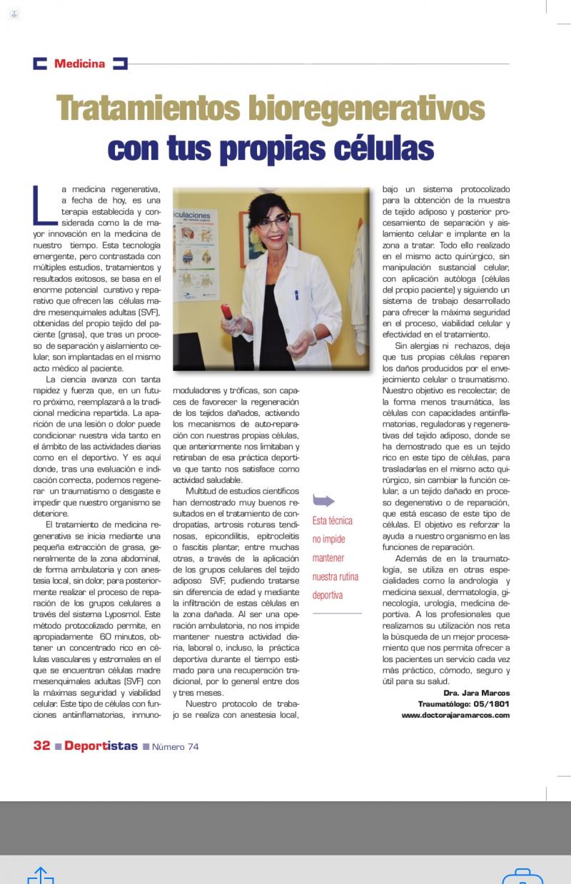Dra. Ana María Jara Marcos: traumatóloga en Alcobendas | Top Doctors