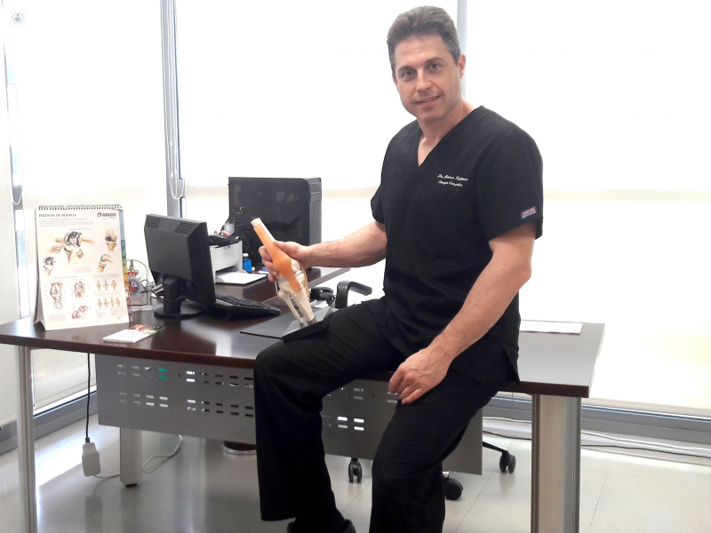 Dr. Marco Palomar Schöpf: traumatólogo en Valencia | Top Doctors