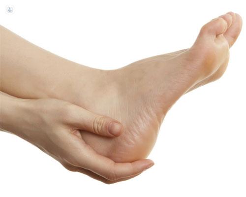 Del pie huesos problemas diabético
